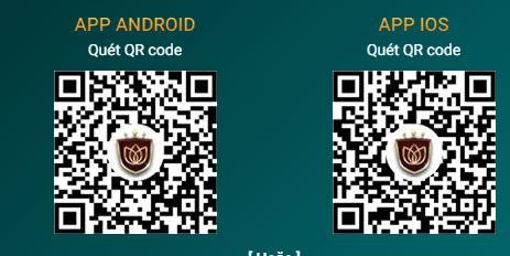 QR tải app trên mobile